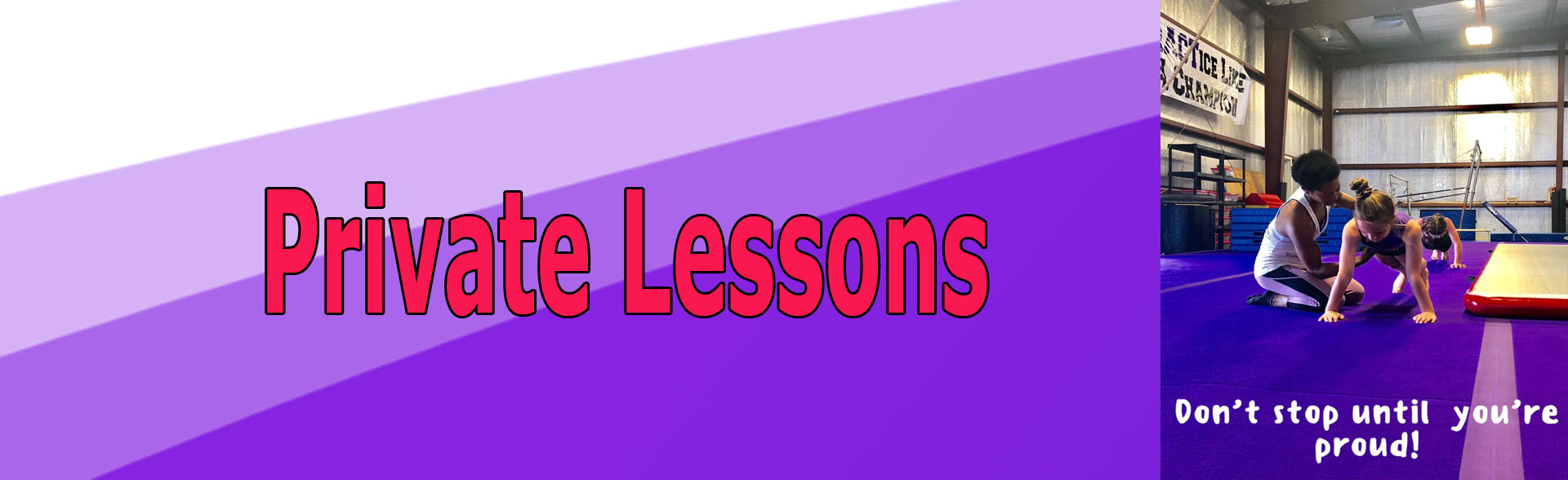 Private Gymnastics Lessons in Houma
