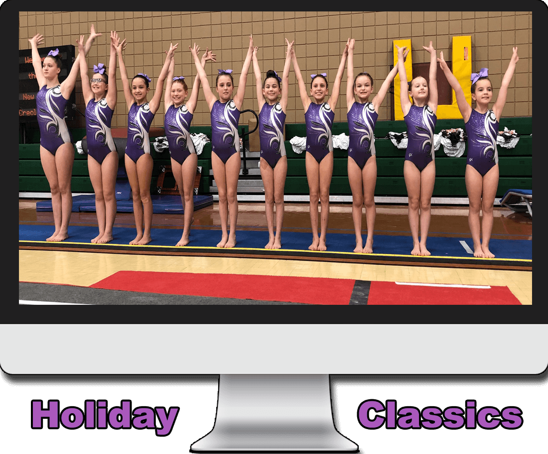 Judging the Holiday Classic Gymnastics Meet Image